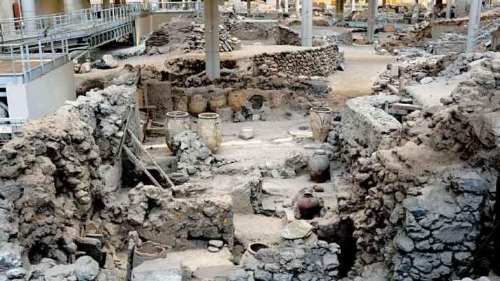 3400-year-old Ballgame court found during excavation in