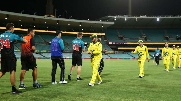 1st ODI: Australia beat New Zealand by 71 runs with no spectators at SCG