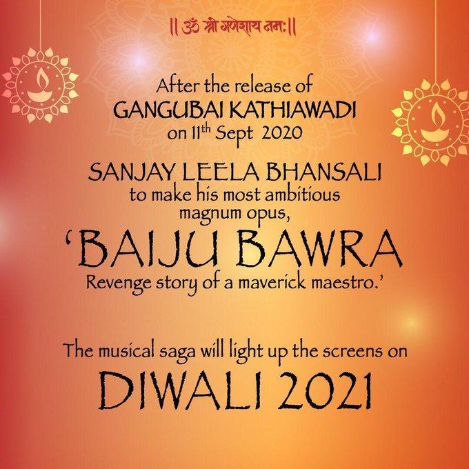 India Tv - Sanjay Leela Bhansali's Baiju Bawra