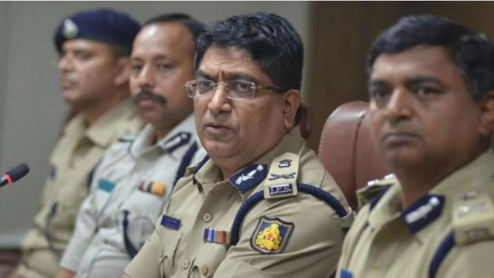File image of Bhaskar Rao, Police Commissioner of Bengaluru City.