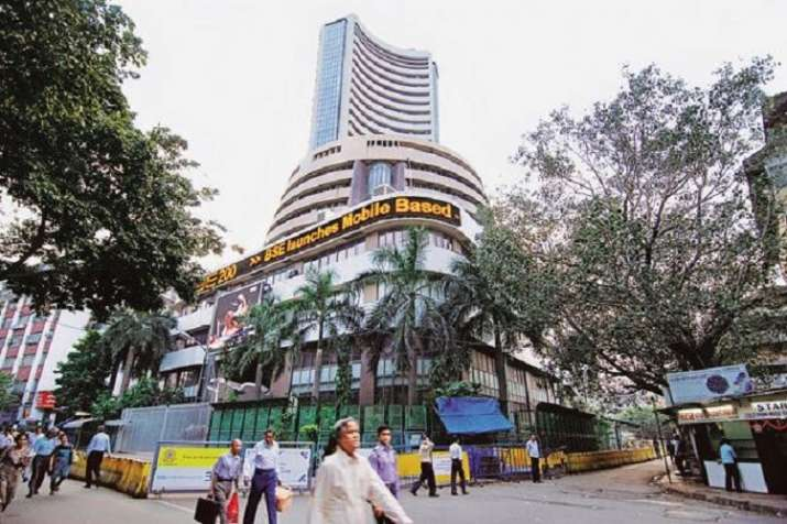 Sensex opens at 34,472.50, down by 1224.90 points; Nifty at 9,958.70