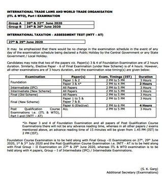 India Tv - CA exams postponed, ca may 2020 exams postponed, ca may 2020 exams, ca exams, ca may 2020, ca exams