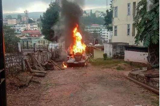 Curfew imposed in Shillong between 9:00 pm and 6:00 am amid CAA clashes
