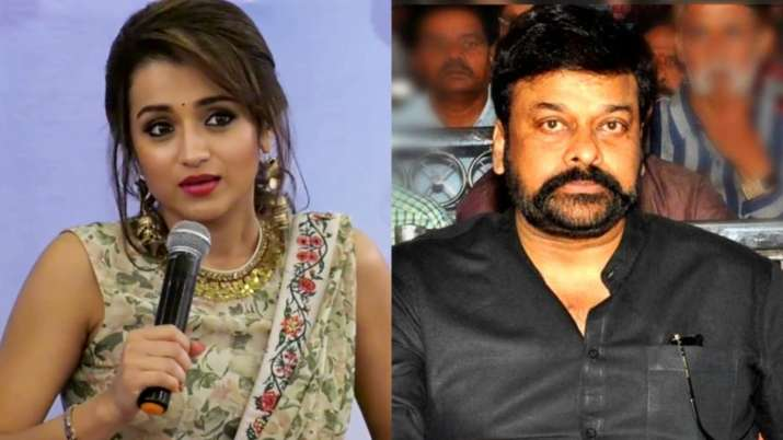 Actor Trisha walks out of Chiranjeevi film over 'creative difference'