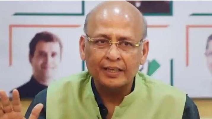A file photo of Congress spokesperson Abhishek Manu Singhvi