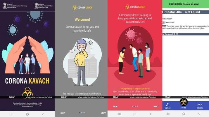 India Tv - corona kavach, coronavirus tracking app, corona kavach coronavirus tracking app, android, android ap