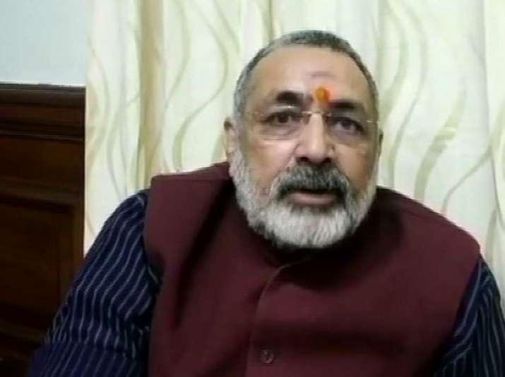 A file photo of union minister Giriraj Singh