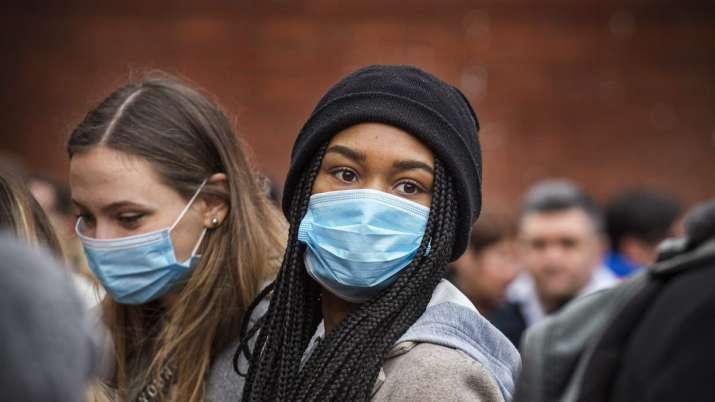 India Tv - Protection through masks