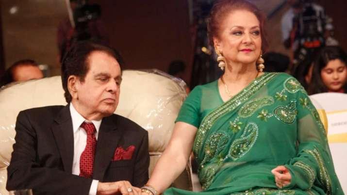 Saira Banu gives Dilip Kumar's health update: Doing fine after ...