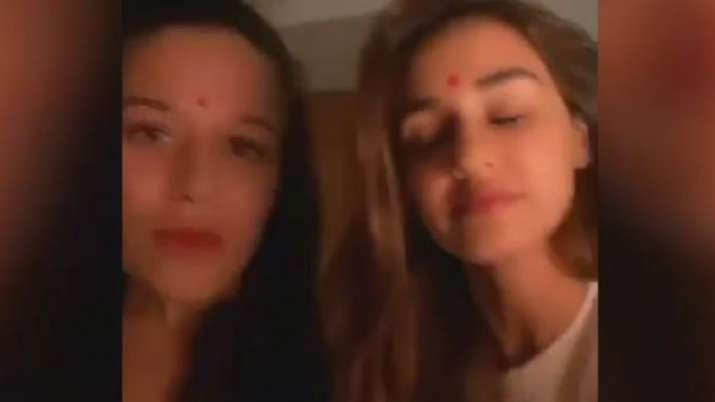Disha Patani and Tiger Shroff's sister Krishna's TikTok video will leave you in splits