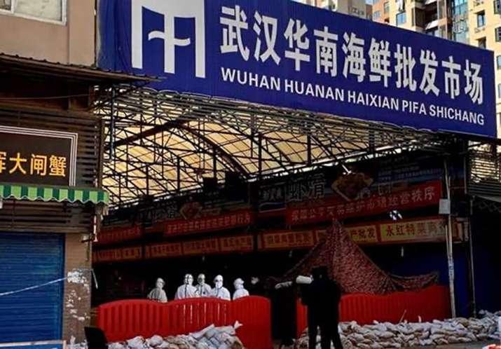 Huanan wet market in China