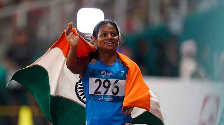 Never expressed it was to fund my training: Dutee Chand clarifies ...