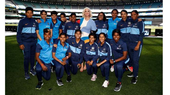 Women's T20 WC: Ahead of final, Katy Perry meets Harmanpreet and Co