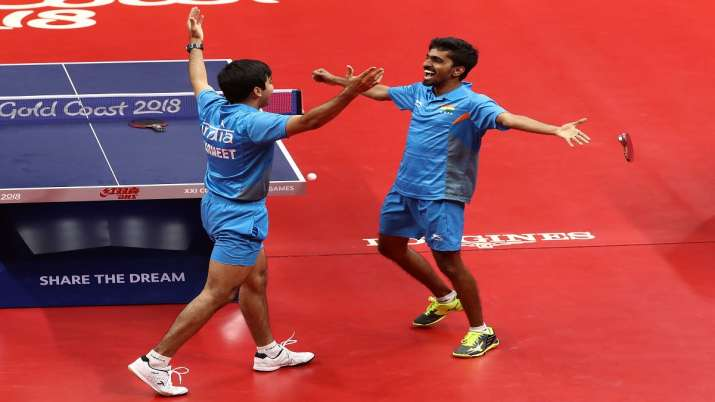 India's highest-ranked player G Sathiyan, who is in line to