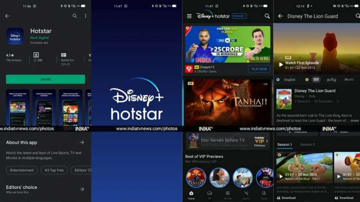 Hotstar Rebrands Android Ios App With Disney Logo Official Launch Soon Technology News India Tv