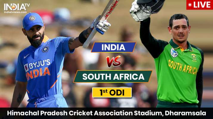 Live Streaming India vs South Africa, 1st ODI: Watch IND vs SA stream live cricket match online on H