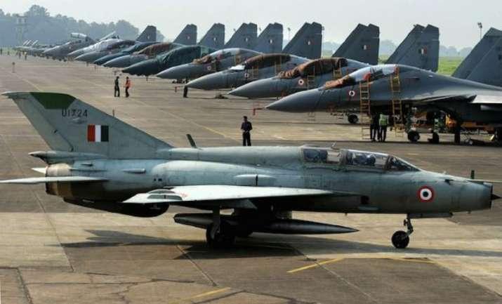 A file photo of an IAF base