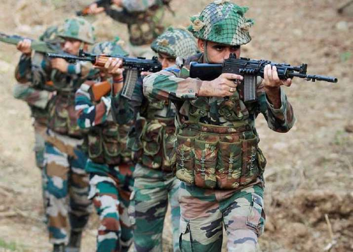 A file photo of Indian Army troopers for representational