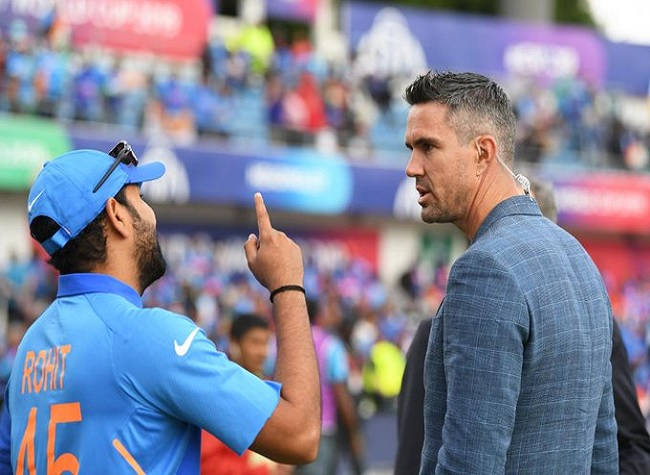Kevin Pietersen to interview Rohit Sharma on Thursday