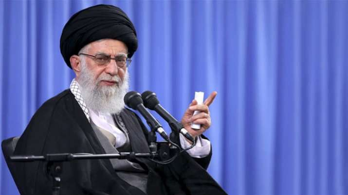 A file photo of Iran's Supreme Leader Ayatollah Ali