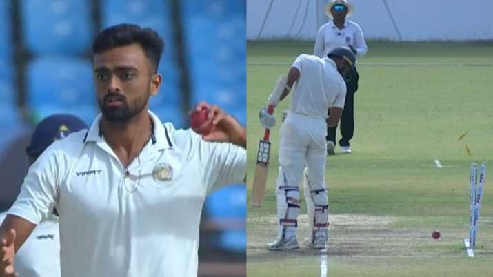 ranji trophy, jaydev unadkat, jaydev unadkat run out, akash deep run out, ranji trophy jaydev unadka