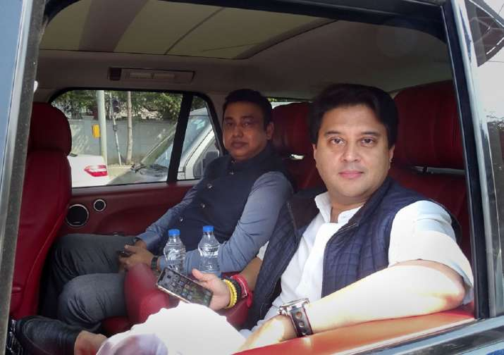 Who is Zafar Islam, the man accompanying Jyotiraditya