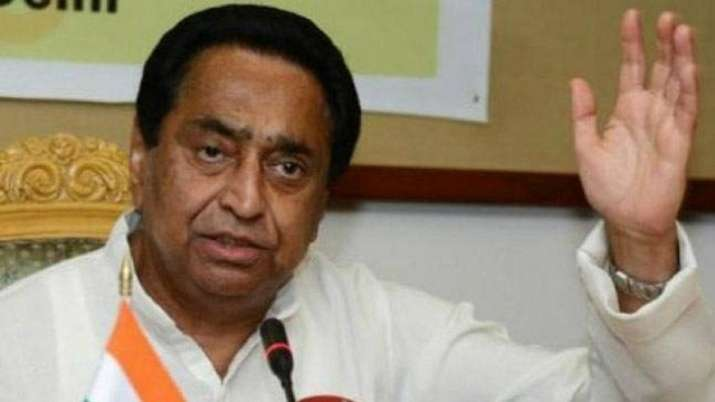 A file photo of Madhya Pradesh CM Kamal Nath (PTI)