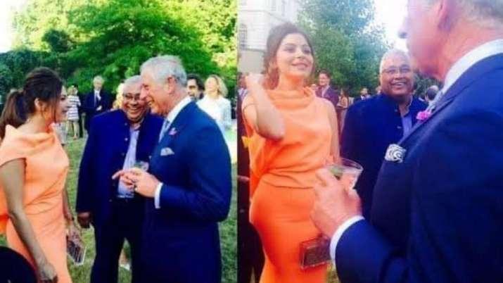 Kanika Kapoor's photos with Prince Charles go viral as royal tests positive for coronavirus.