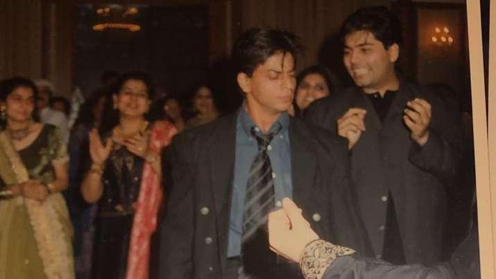 When Shah Rukh Khan, Karan Johar danced on Chaiyaa Chaiyya during Sanjay Kapoor-Maheep's sangeet cer