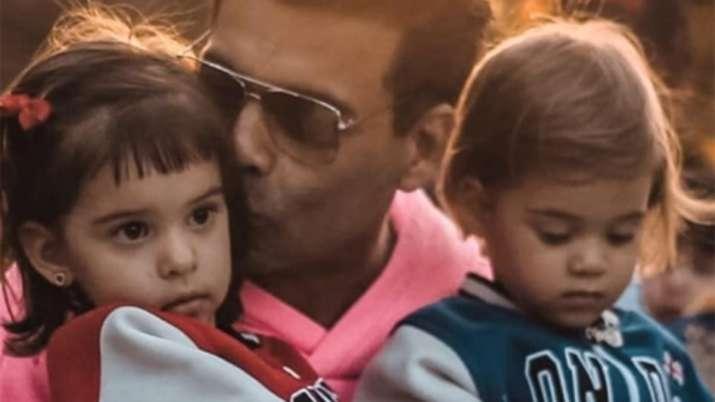 Karan Johar shares video of twins Yash, Roohi goofing around with mother Hiroo: Life in quarantine