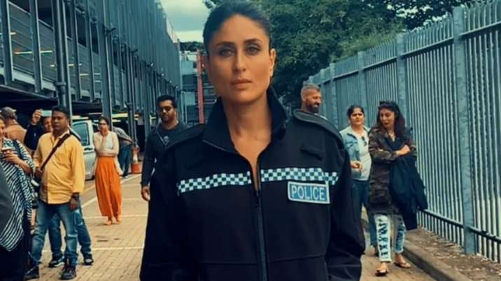 Kareena Kapoor Khan is in awe of her 'slo-mo' shot. Watch video
