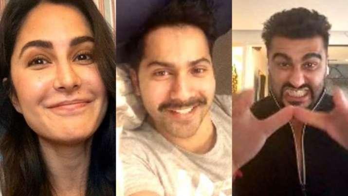 United through COVID-19: Katrina Kaif, Varun Dhawan, Arjun Kapoor bond over video call