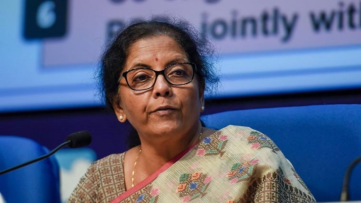 Finance Minister Nirmala Sitharaman to address media at 1 pm today