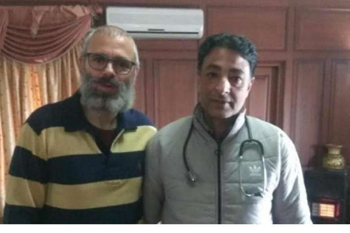 A new picture for former J&K CM Omar Abdullah has surfaced