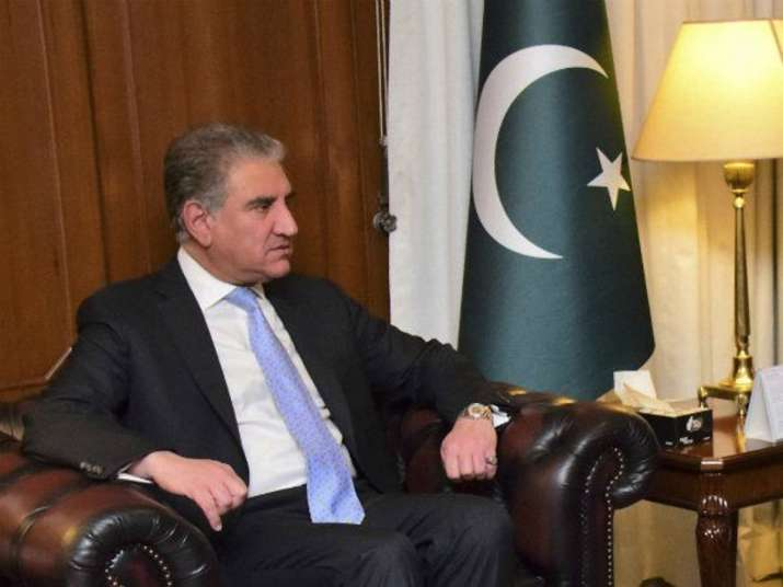A file photo of Pakistan foreign minister Shah Mahmood