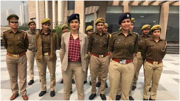 Happy Women's Day 2020: India TV anchor Meenakshi Joshi turns ACP for the day (See Pics, Video)