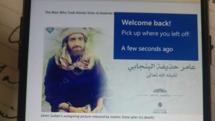 Photo of slain ISIS commander found from couple detained by Delhi police for instigating anti-CAA Pr