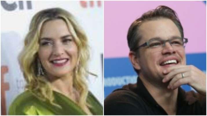 'Contagion' stars Matt Damon, Kate Winslet reunite for