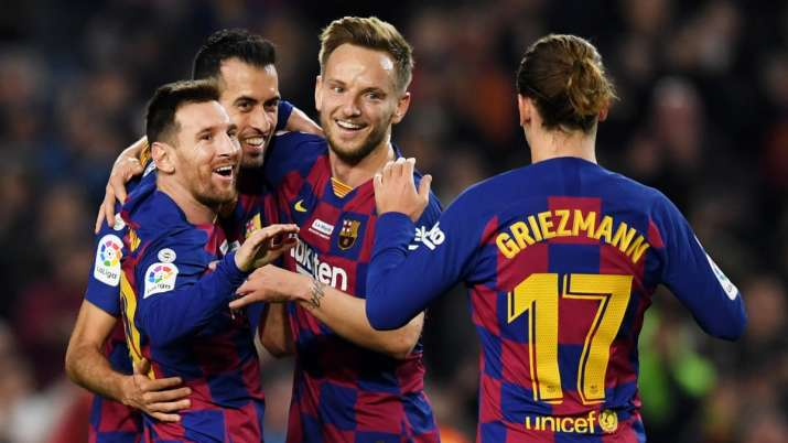 FC Barcelona seeks to cut players' salaries by 70 per cent: Report
