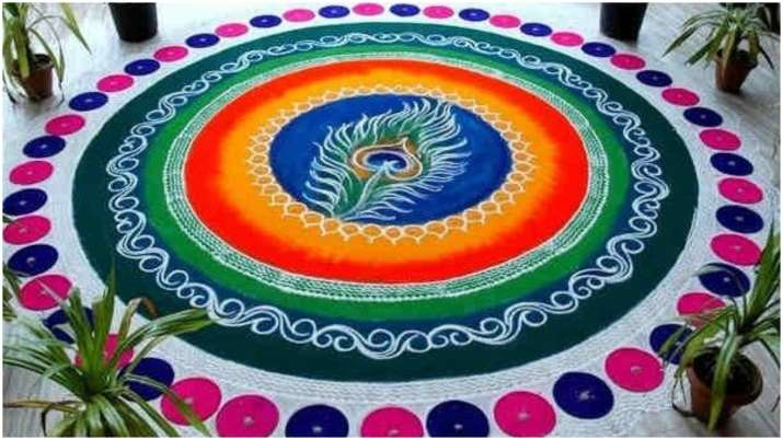 India Tv - Rangoli Designs for Holi 2020