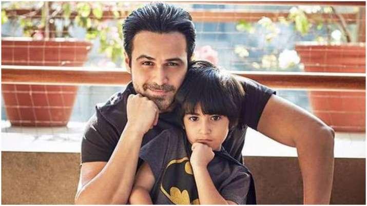 India Tv - Emraan Hashmi with son