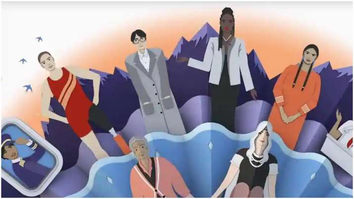 Google Doodle spotlights history and significance of International Women's Day with 3D animated vide