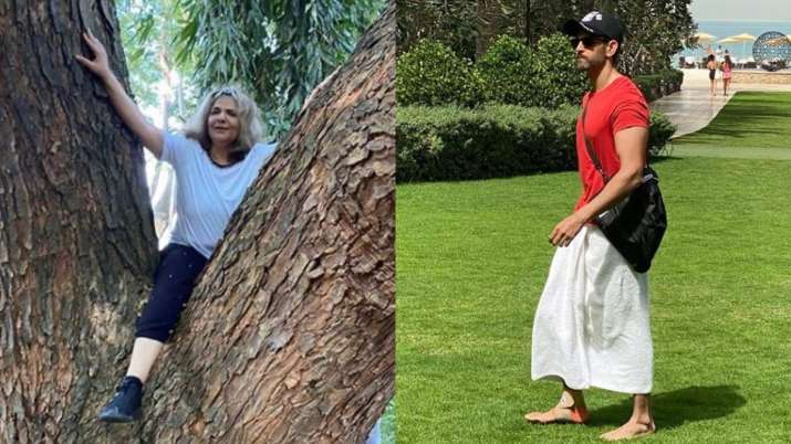 Fitness Goals: Mom Pinkie Roshan and Son Hrithik rock the gram with workout pictures