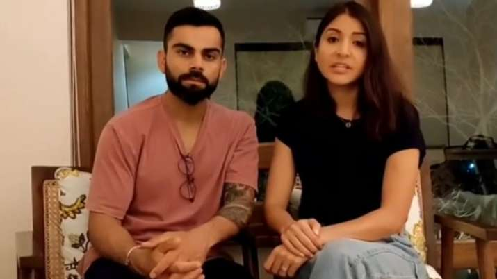 Virat Kohli, Anushka Sharma urge people to stay at home and not violate 21-day lockdown