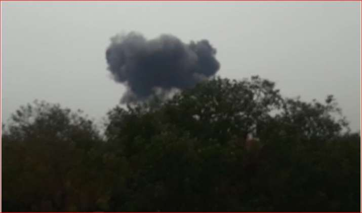 Pakistan Air force F-16 aircraft crashes during rehearsal