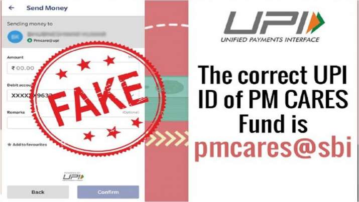 Beware! Fake PM CARES Fund UPI ID circulated, Govt warns