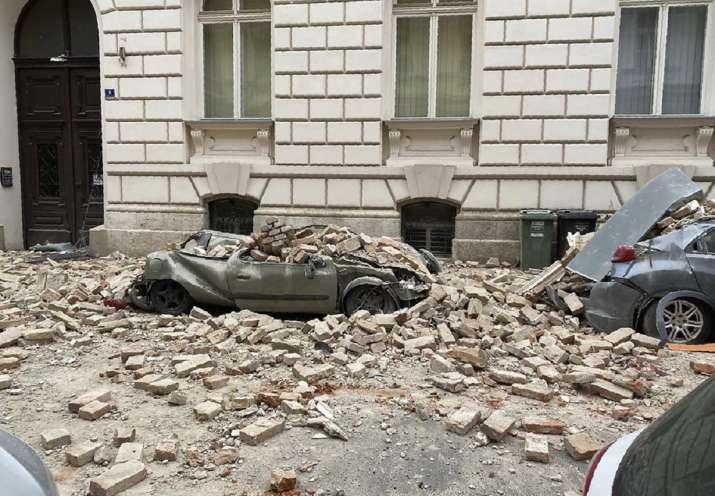 Powerful Earthquake Shakes Croatia Casualties Reported World News India Tv
