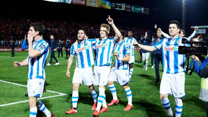 Copa Del Rey Real Sociedad Advance To First Final In 32