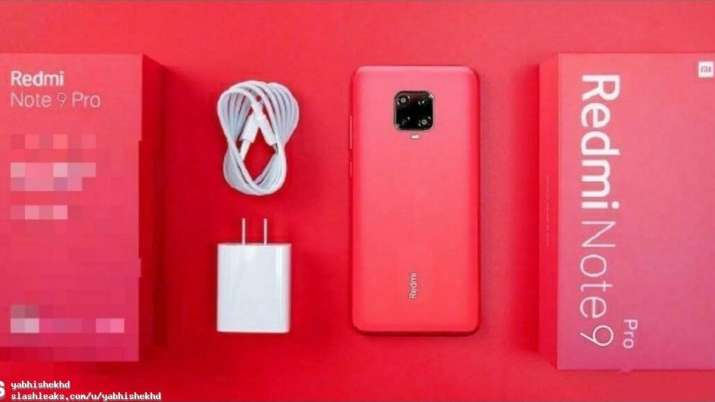 Xiaomi Redmi Note 9 Pro Images Specifications Surface Online Here S What To Expect Technology News India Tv