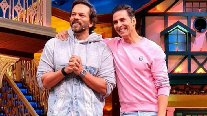 Rohit Shetty aces Akshay Kumar's walk he learned as his body-double on Suhaag sets